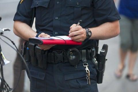 cop ticket quotas