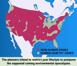 Agenda 21 Non-Human Zones
