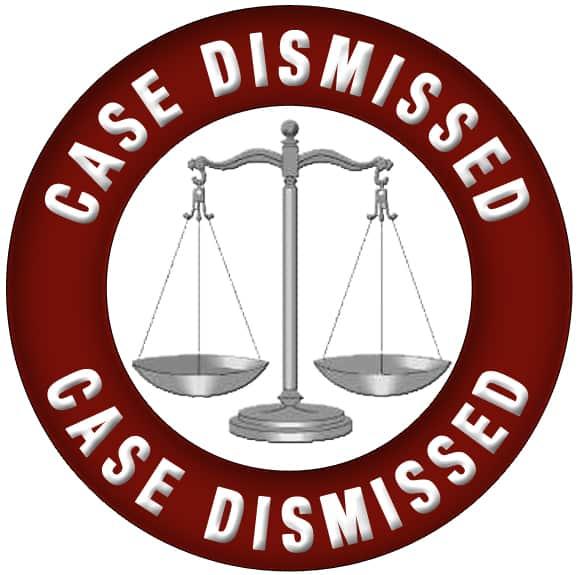 get your case dismissed