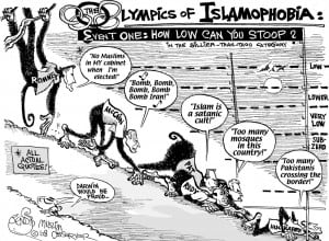 Islamophobia Olympics-credit-bendib.com