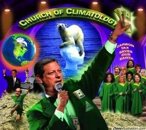 manmade global warming scam climatology al gore