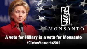Hillary Clinton Monsanto 2016