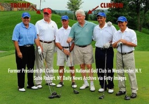 insider Trump with Bill Clinton