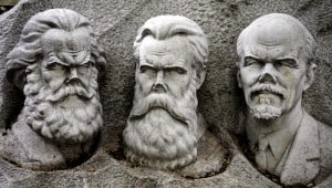 collectivism statues marx engels lenin