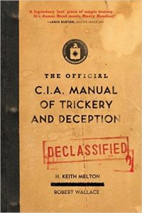 CIA manual trickery deception