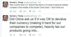 trump china twitter