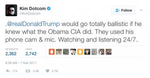 vault 7 kimdotcom obama spy trump