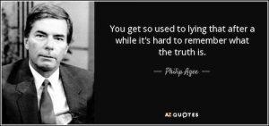 Military Intelligence Complex ex-CIA Philip Agee