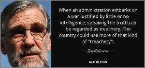 ex-CIA Ray McGovern