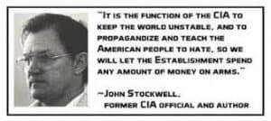 military intelligence complex john stockwell ex-CIA function of CIA