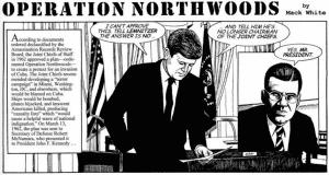 Northwoods Cartoon Mack White