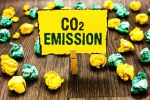 manmade CO2 output levels tiny insignificant