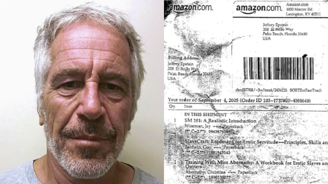 epstein amazon sex slave books
