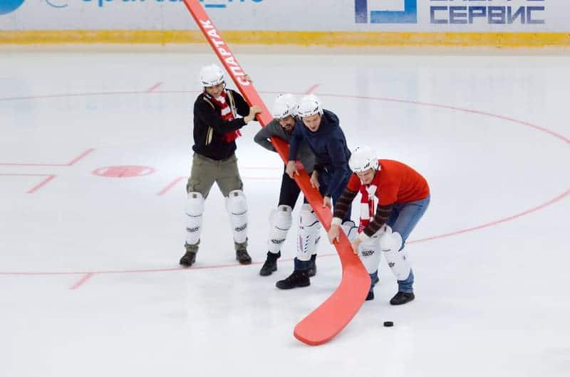 hockey stick graph
