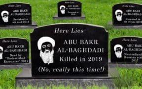 baghdadi multiple deaths