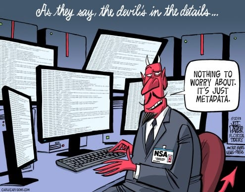 nsa just metadata