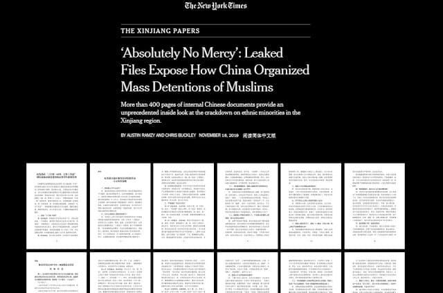 Chinese files NYT propaganda