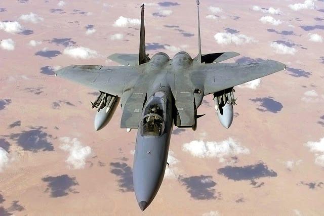 US strikes