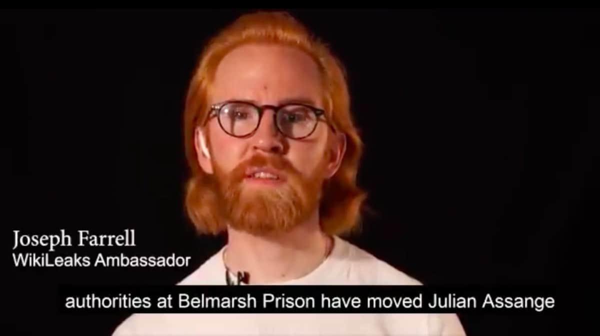 belmarsh prison wikileaks