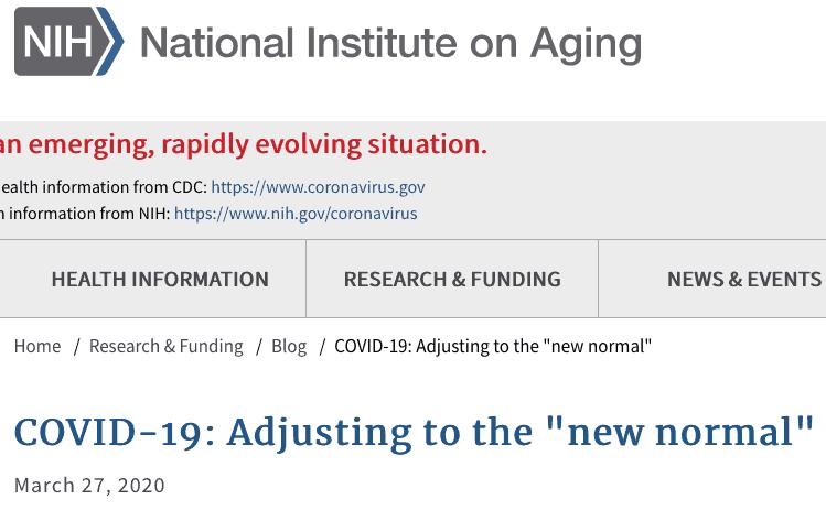 den nya normala NIH