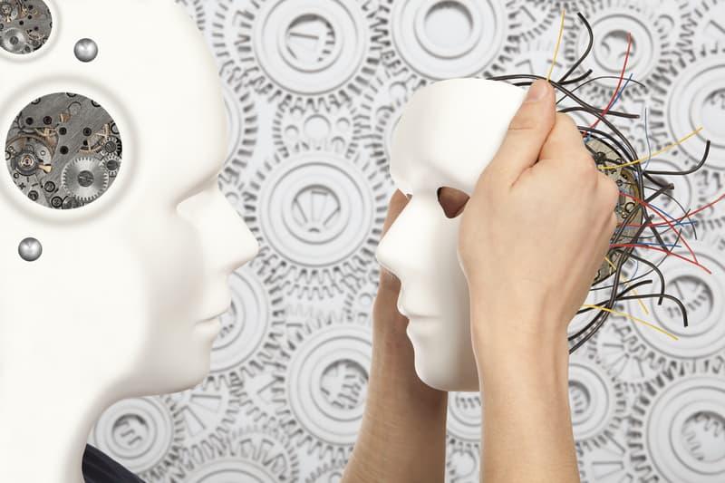masks robot machine transhumanism
