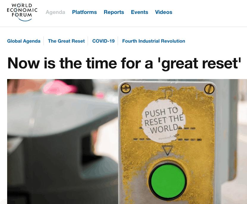 WEF Great Reset