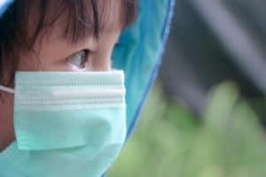masked children COVID