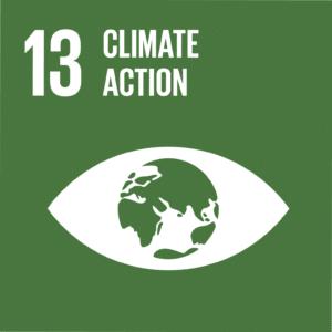 UN SDG climate 13 all seeing eye